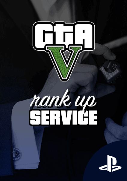 Rank up GTA 5 online