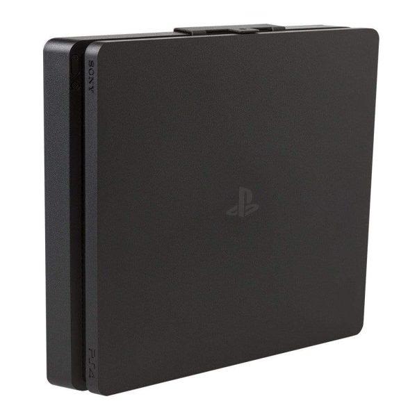 Black PS4 slim wall mount