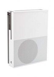 White Xbox One S wall mount